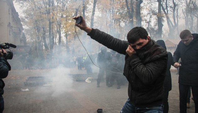 На акции против застройки в Городском саду Одессы травмировали шестерых полицейских