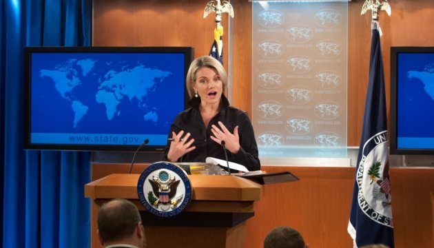 United States again calls on Russia to end aggression in Ukraine