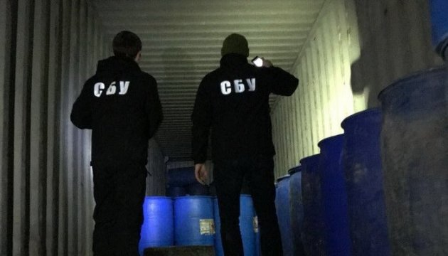 СБУ накрыла склады перевозчиков