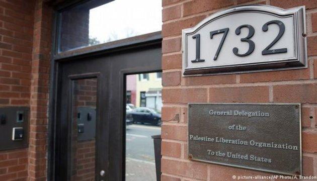 США збираються закрити представництво Організації звільнення Палестини