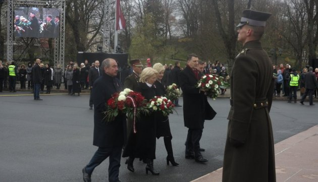 Латвия отпраздновала 99-летие Независимости