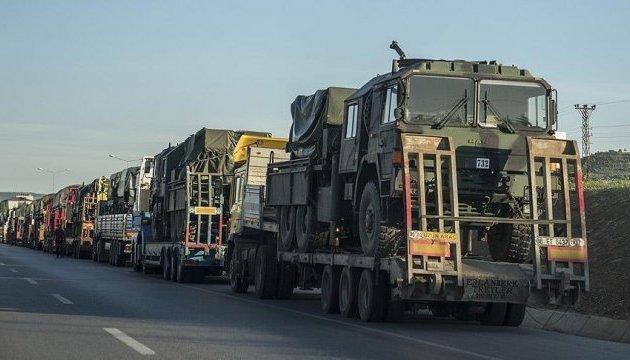 Туреччина перекидає військову техніку в Ідліб