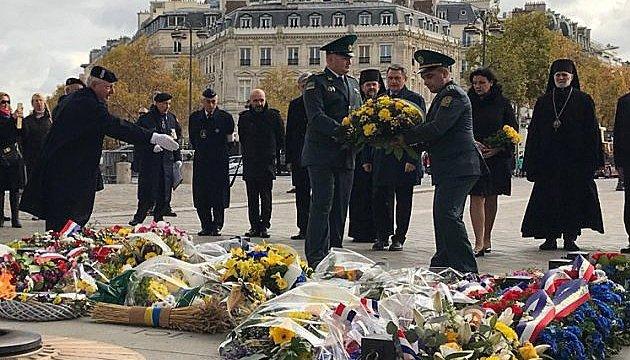 Dans le centre de Paris s'est déroulée une cérémonie de commémoration des victimes du Holodomor (vidéo)