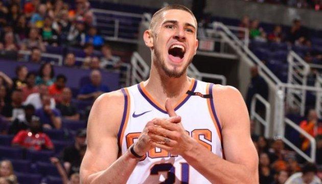 НБА: Українець Лень допоміг «Фініксу» обіграти «Чикаго»