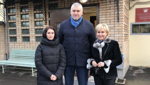 Súshchenko se reúne con su esposa e hija en Lefórtovo