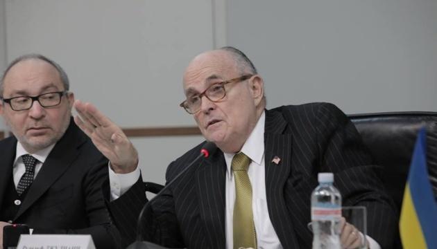 Джуліані звинуватив Йованович у дезінформації влади України
