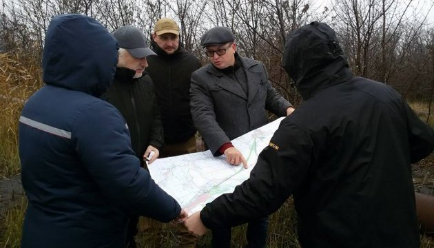 Жебривский проинспектировал строительство Авдеевского газопровода