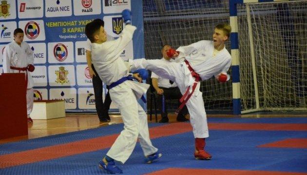 У Чернівцях пройшов відбірковий чемпіонат України з карате