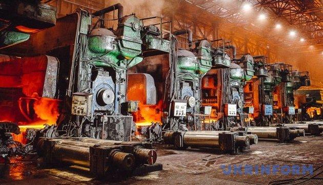 В Украине на 3,5% увеличилось производство металлопроката