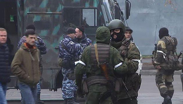 Бунт проти Плотницького: центр Луганська захопили люди звільненого