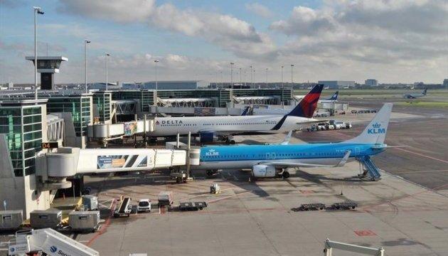 В аэропорту Амстердама - технические проблемы,