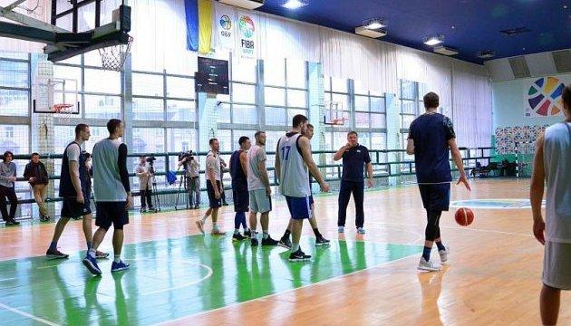 Баскетбол: чоловіча збірна України провела тренування перед відбором на ЧС-2019