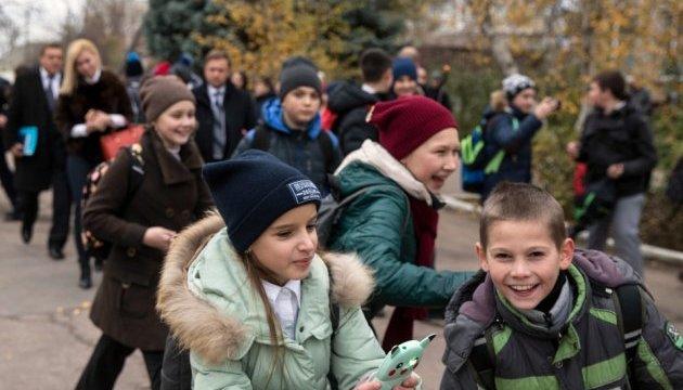 Более полусотни детей из Донецкой и Луганской областей оздоравливаются на Сумщине