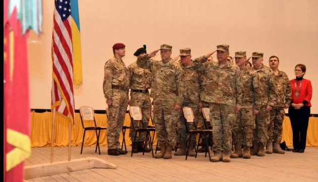 27th Infantry Brigade Combat Team of U.S. Army arrives in Ukraine
