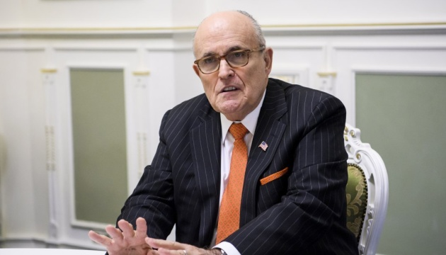 Giuliani accuses Yovanovitch of information campaign against Trump