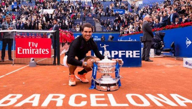 Надаль подтвердил свое участие в теннисном турнире ATP в Барселоне