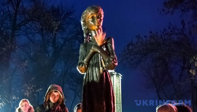 Ukrainians commemorate Holodomor victims