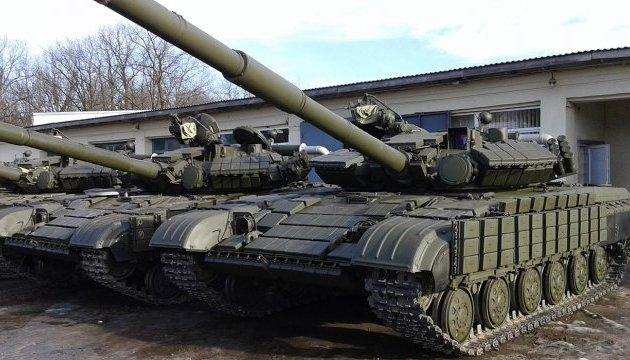 Украинская армия получила новую технику - 16 танков и 5 БТРов