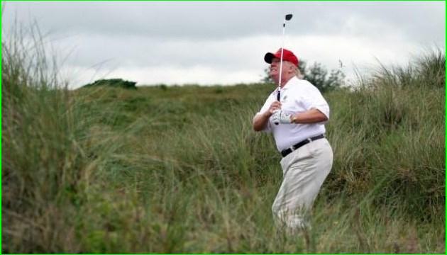 Винищувач ВПС США перехопив літак над гольф-клубом Трампа