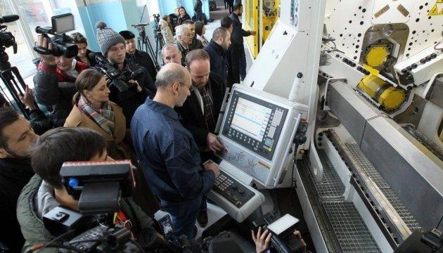 Zusammenarbeit der Ukraine und der NATO bei Entwicklung der Militärtechnik