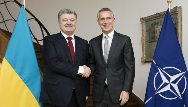 Poroshenko, Stoltenberg to meet in Munich this week