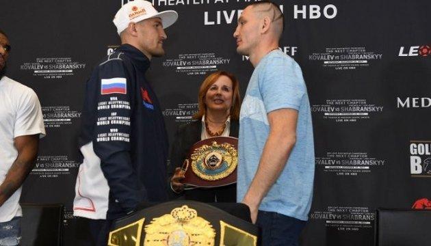 Шабранский - Ковалев: Украинец оказался тяжелее перед чемпионским боем