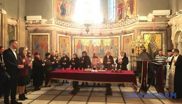 В Бухаресте отслужили панихиду по жертвам Голодомора