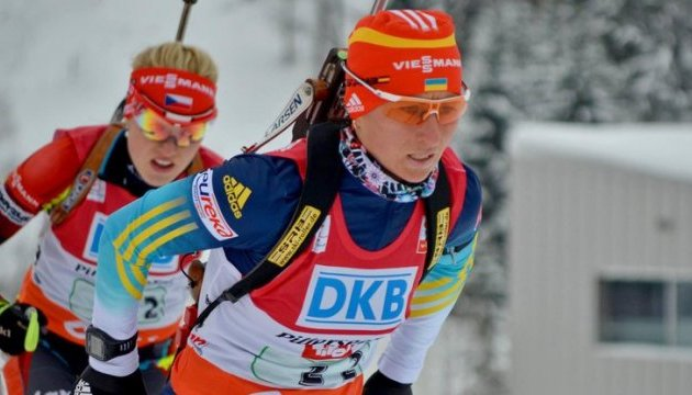 Россия хотела испортить допинг-проба украинской биатлонистки