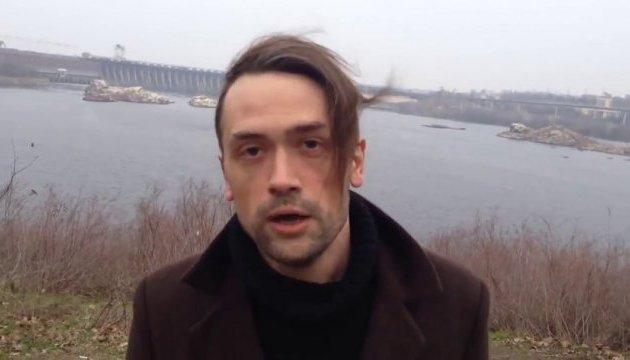 Российский актер, ушедший в АТО, снимается в фильме по пьесе Корчинского