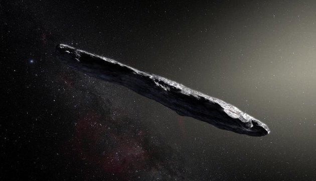 Астрономи ідентифікували астероїд, що прилетів із глибин міжзоряного простору