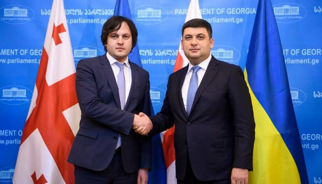 Groysman, Kobakhidze discuss foundation for deepening relations
