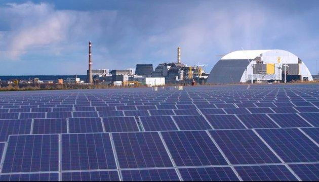 """Первый солнечный """"парк"""" откроют в Чернобыле через несколько недель"""