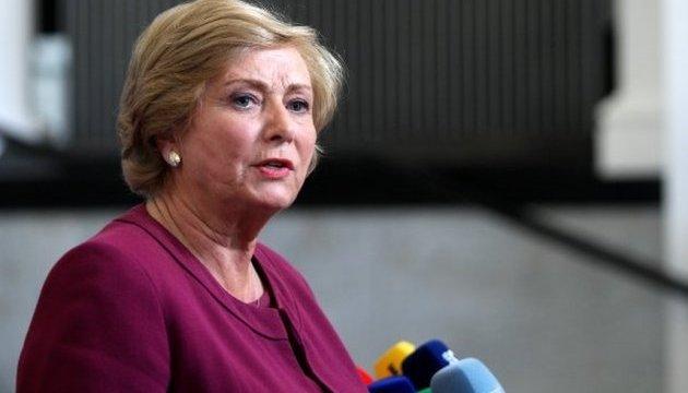 Віце-прем'єр Ірландії пішла у відставку, аби уникнути виборів