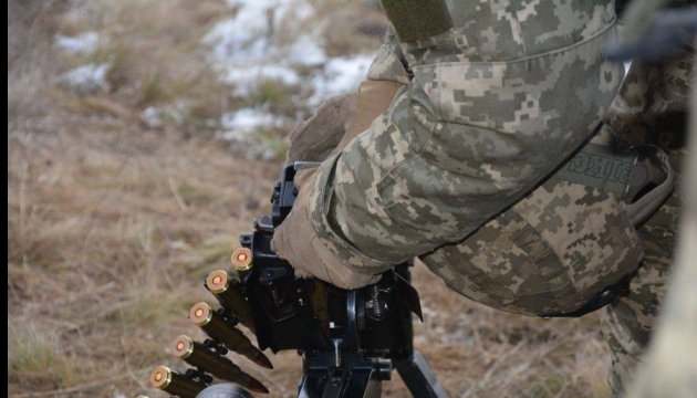 Ukrainian army sustained no losses in ATO zone over past day