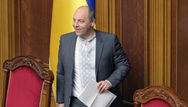 Parubij ogłosił o rozpadzie koalicji w Parlamencie