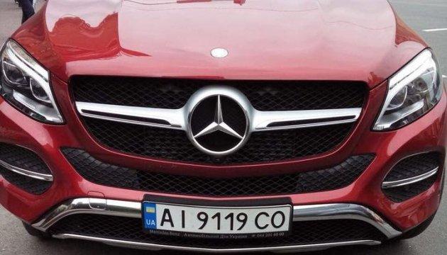 У певицы Астафьевой похитили красный Mercedes