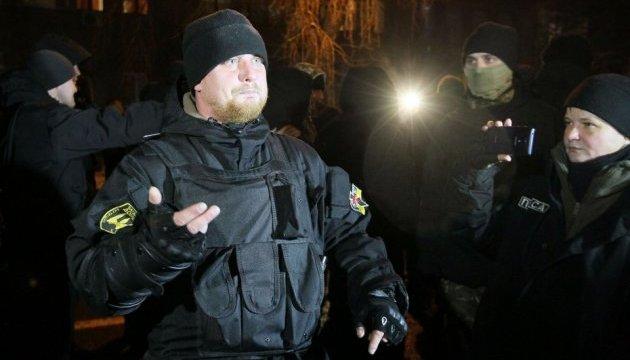 Сутички під МВС: активісти заявляють про чотирьох затриманих