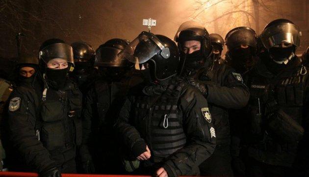 Всех задержанных во время столкновения под МВД отпустили