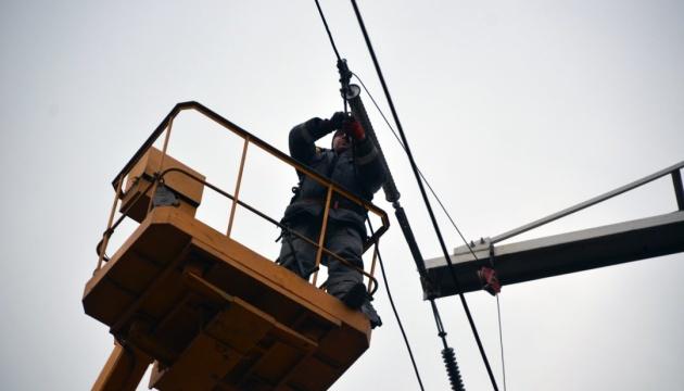 У Черкасах продовжують шукати та усувати пошкодження ЛЕП - мерія