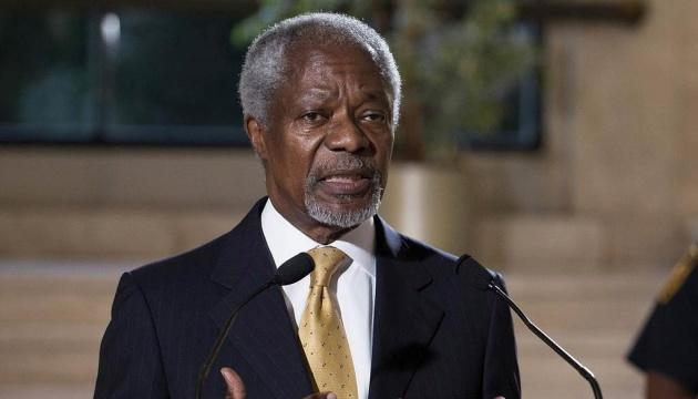ООН ушанувала пам'ять Кофі Аннана в річницю його смерті