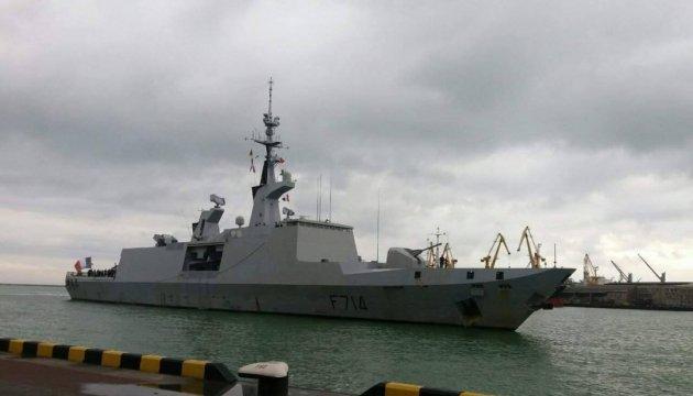 В Одессу прибыл французский фрегат