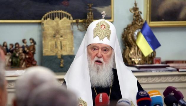 Filaret: Rusia no detendrá con sus amenazas el reconocimiento de autocefalia de la iglesia en Ucrania