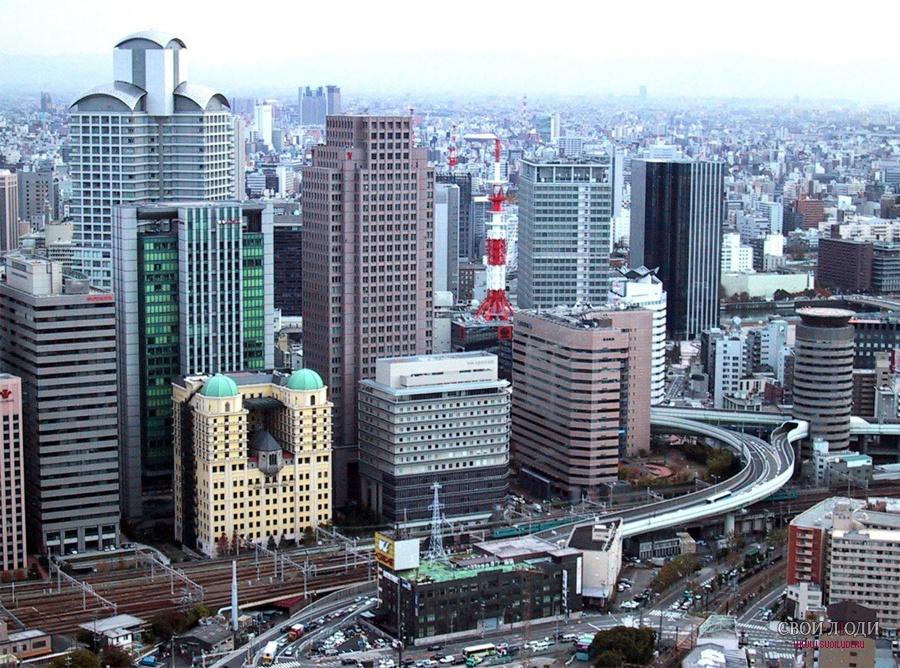 Японське місто Осака