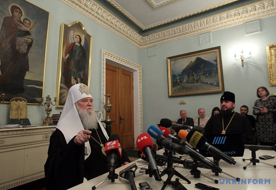Філарет непросив РПЦ і Кіріла про помилування,— УПЦ-КП