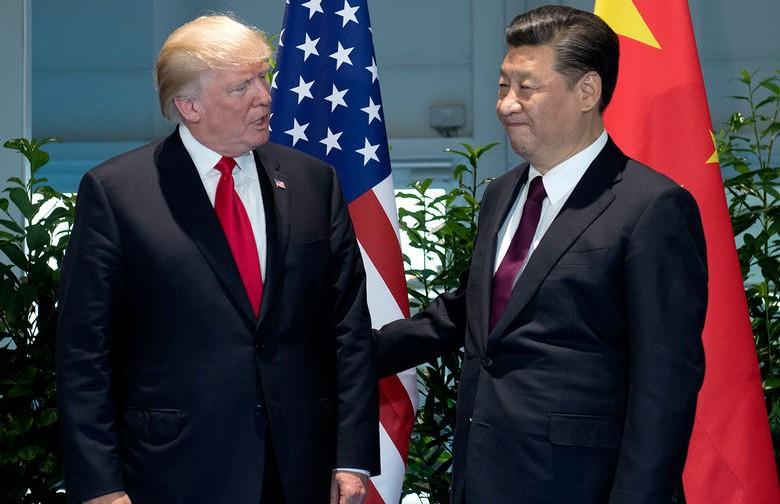 Президент США Дональд Трамп і глава КНР Сі Цзіньпін (8 листопада, 2017)