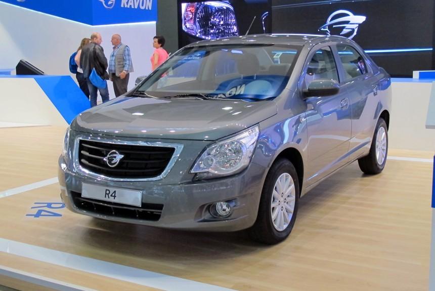 Найбільш адекватним замінником Lanos можуть стати узбекські автівки Ravon