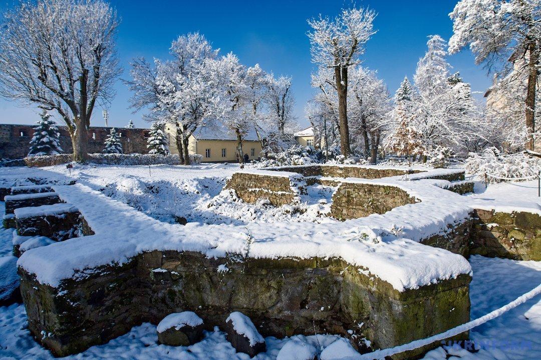 Зимова казка в Ужгородському замку