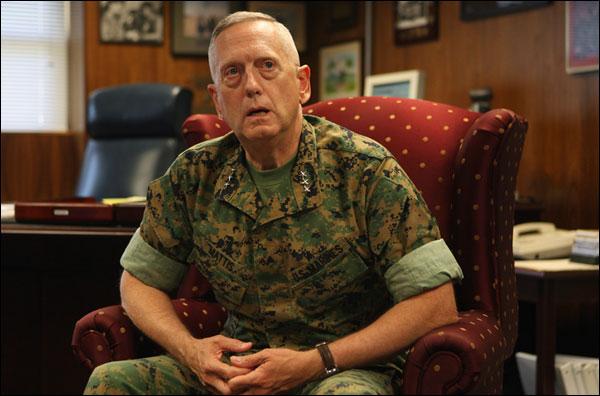 Джон Меттіс, колишній міністр оборони США