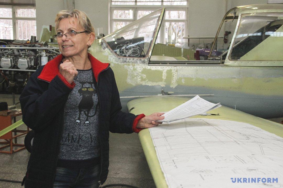 Провідний конструктор ОКБ-2 Людмила Чернікова
