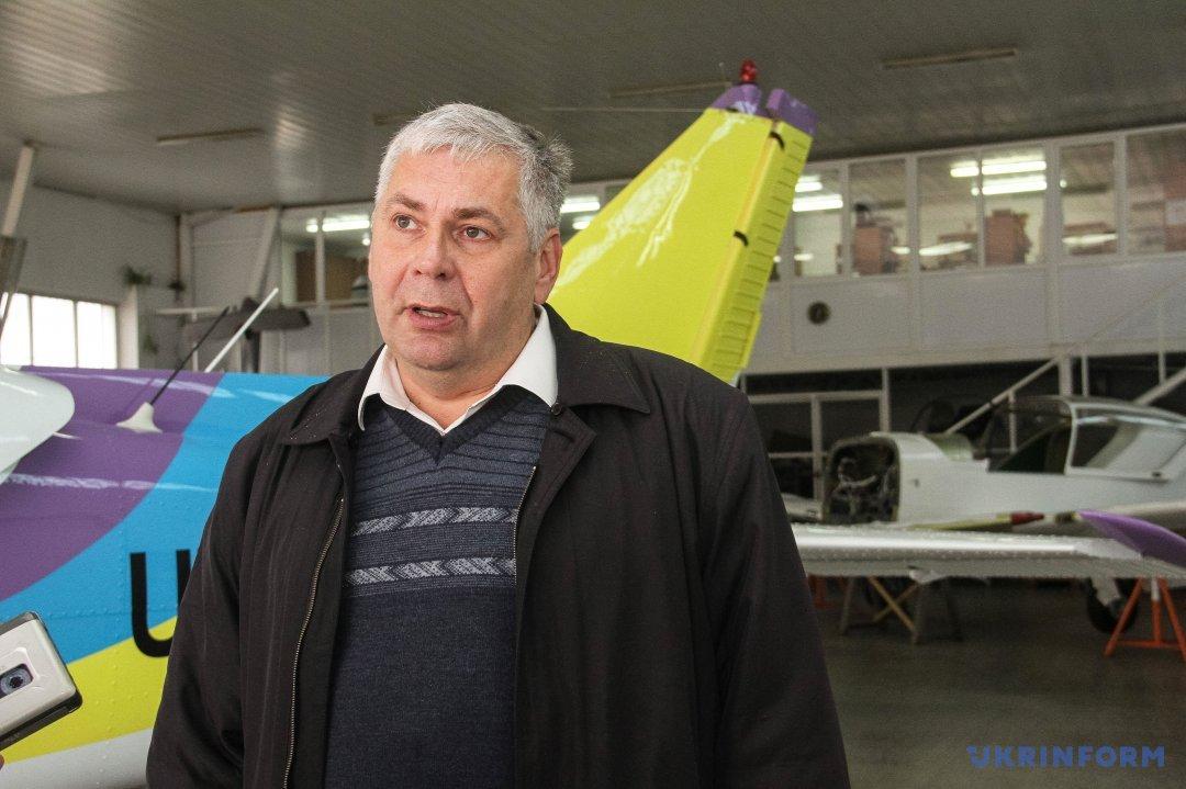 Головконструктор авіазаводу Валентин Гостіщев